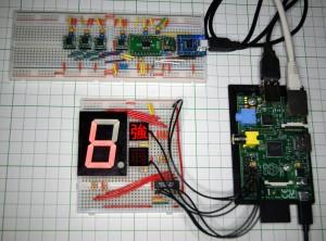 RaspberryPi震度計