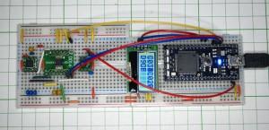 AQM0802を接続