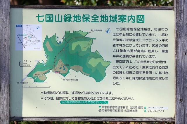 七国山緑地保全地域